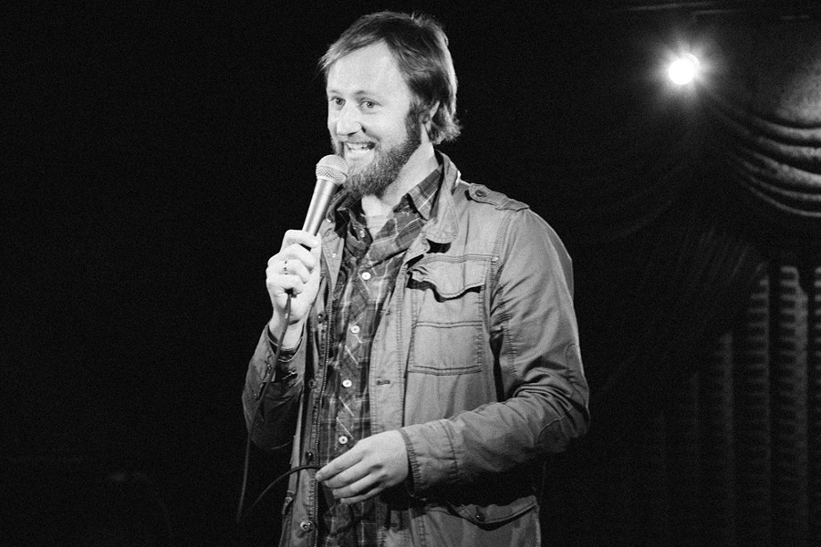 Rory Scovel stops by UP Comedy Club this weekend. - MANDEE JOHNSON