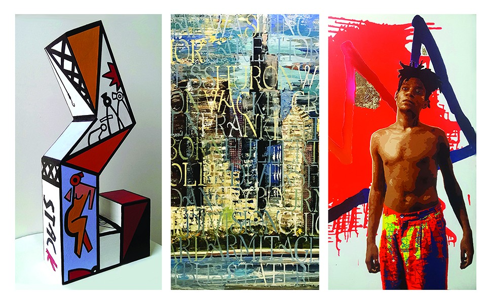 """Off the Wall"" features the work of graffiti artists Derric Clemmons, Ronit Wiener, and John Yaou. - COURTESY THE ARTIST"