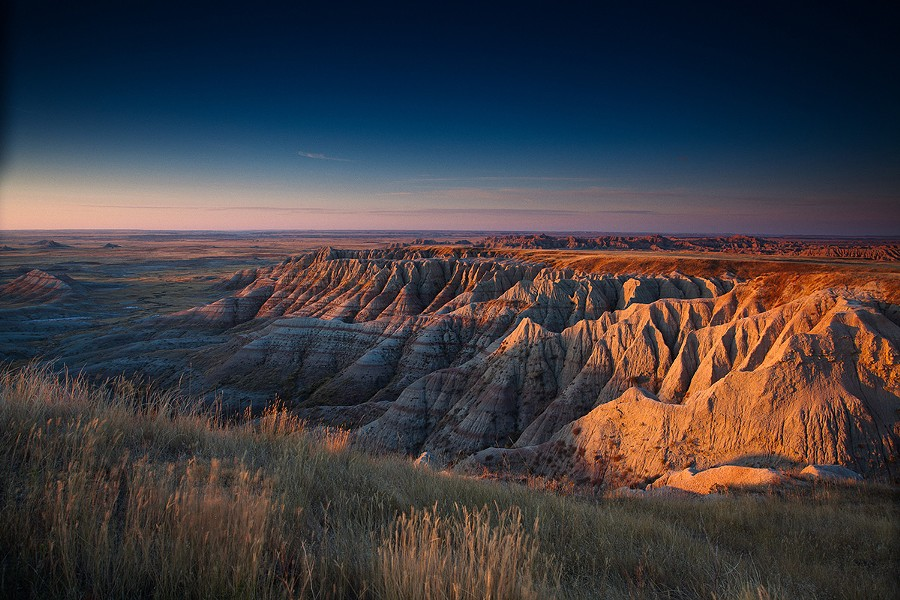"""Badlands National Park in South Dakota. The park's official Twitter feed """"went rogue"""" this week. - ADAM GULKIS"""