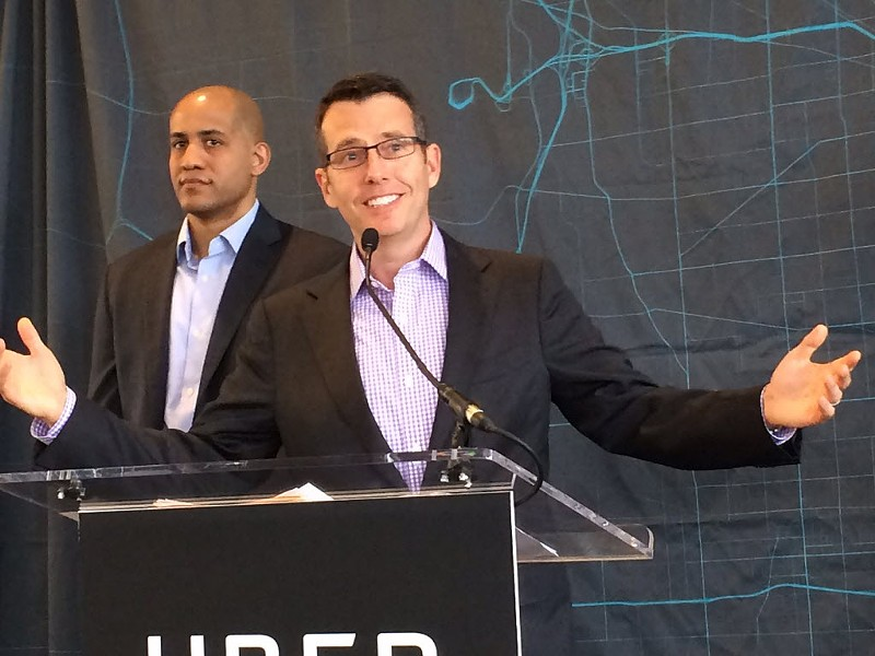 Uber senior executive David Plouffe in 2016 - STEFANO ESPOSITO/SUN-TIMES