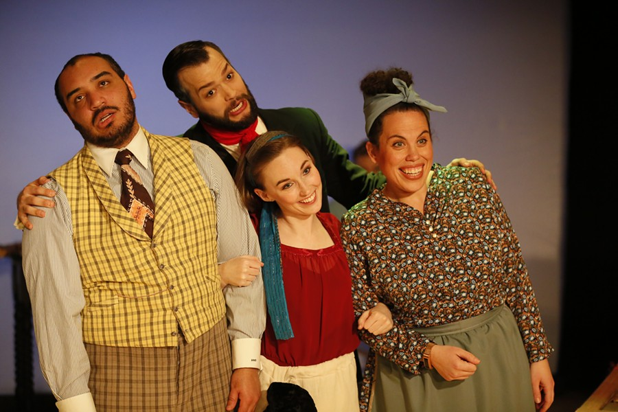 Quest Theatre Ensemble's The Fantasticks - BRAXTON BLACK