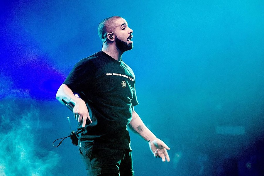 Drake performing at the Ziggo Dome in Amsterdam - FERDY DAMMAN