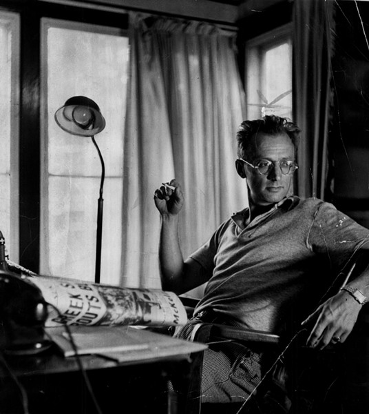 Nelson Algren in 1972 - ROBERT MCCULLOUGH/SUN-TIMES ARCHIVE