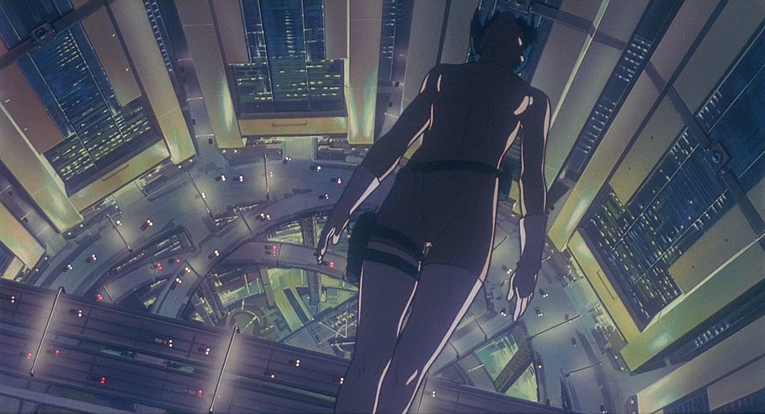 From Mamoru Oshii's Ghost in the Shell