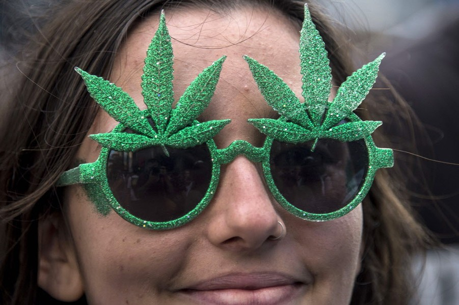 The Reader asked Illinois gubernatorial candidates where they stand on marijuana legalization. - AFP PHOTO / NELSON ALMEIDA