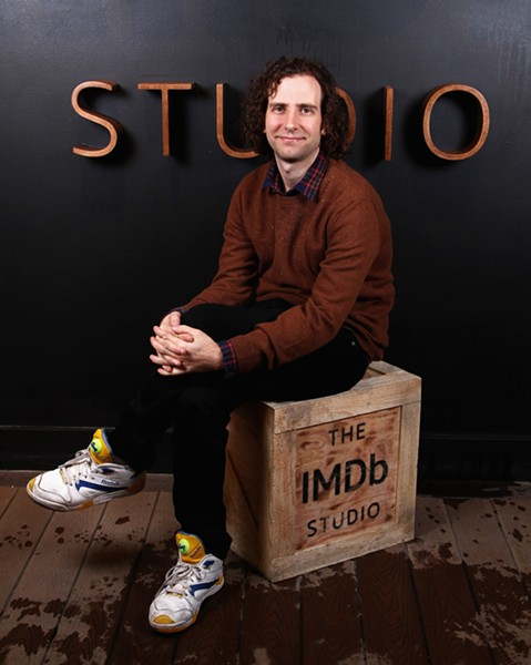 Kyle Mooney performs stand-up and sits for his odd short films at Thalia Hall Wednesday 7/12 - TOMMASO BODDI