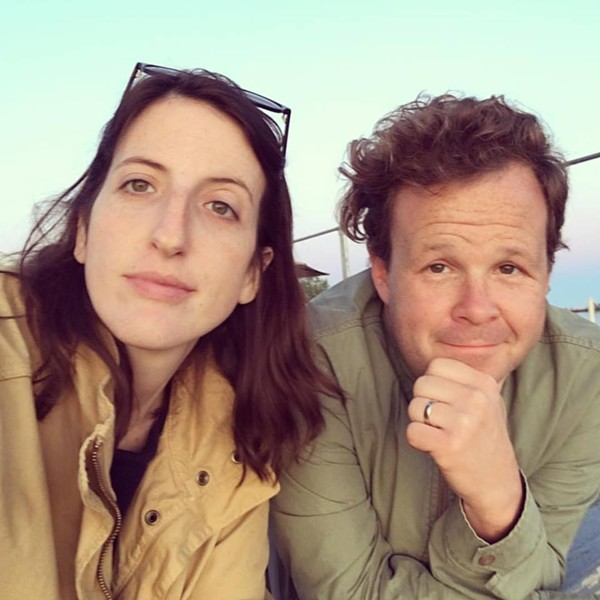Rebecca Fons and Jack Newell - PHOTO COURTESY LISA TRIFONE AT 11TH STREET LOT