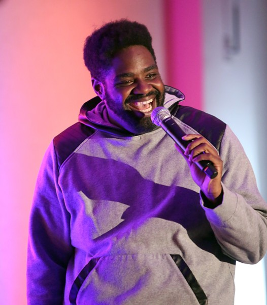 Stand-up Ron Funches, one of the friendliest comics on tour, brings his delightful humor to Thalia Hall Friday 8/11. - MAURY PHILLIPS