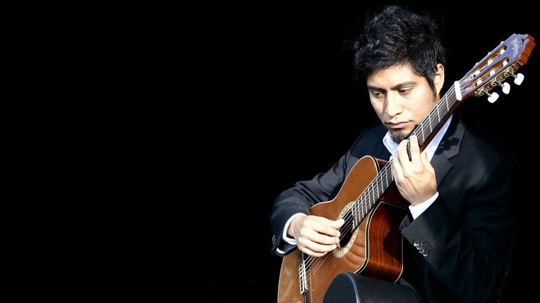 Classical guitarist Ivan Resendiz is one of the artists who will be performing at the LATINxARTS festival. - COURTESY HAIRPIN ARTS CENTER