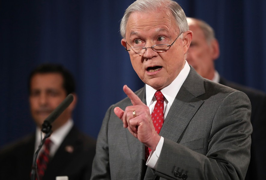 Attorney General Jeff Sessions - AP ANDREW HARNIK FILE