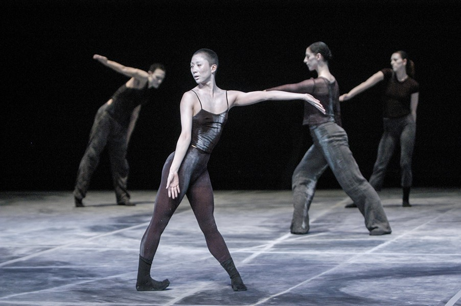 Shen Wei Dance Arts in Rite of Spring, one of two works on this weekend's program at the Auditorium Theatre - STEPHANIE BERGER