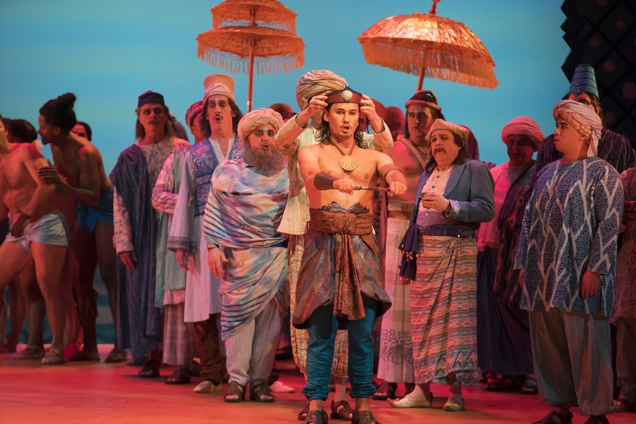 Lyric Opera's The Pearl Fishers - TODD ROSENBERG PHOTOGRAPHY