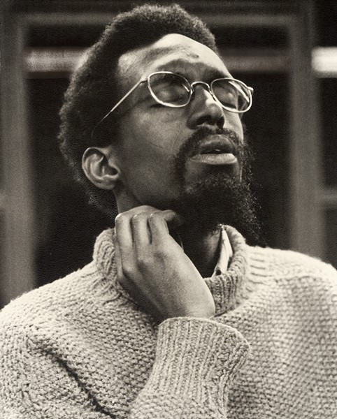 Julius Eastman in 1974, during a rehearsal of the S.E.M. Ensemble at SUNY Buffalo - CHRIS RUSINIAK