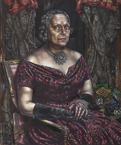 Portrait of Mary Block (1955-'57) - THE ART INSTITUTE OF CHICAGO