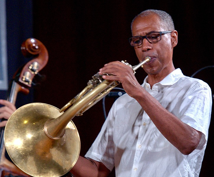 Vincent Chancey has played with the Arkestra on and off since the late 1960s. - R.I. SUTHERLAND-COHEN