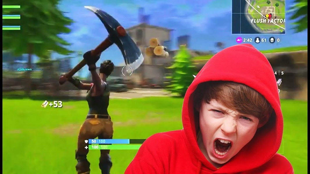 Lots of kids play a lot of Fortnite, but it's not a sign of the apocalpyse. - YOUTUBE