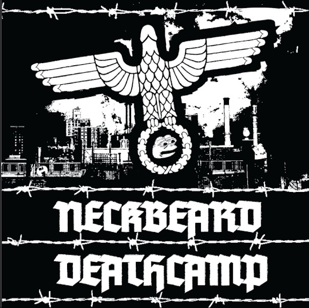The cover of White Nationalism Is for Basement Dwelling Losers - COURTESY OF NECKBEARD DEATHCAMP