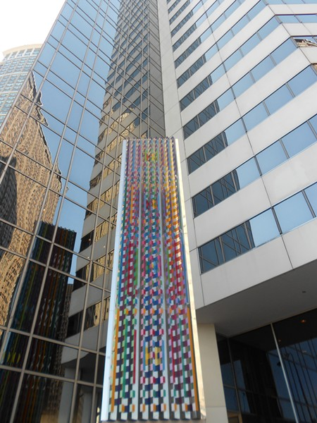 One view of Communication X9 by Yaacov Agam - CHICAGO ARCHITECTURE TODAY VIA FLICKR
