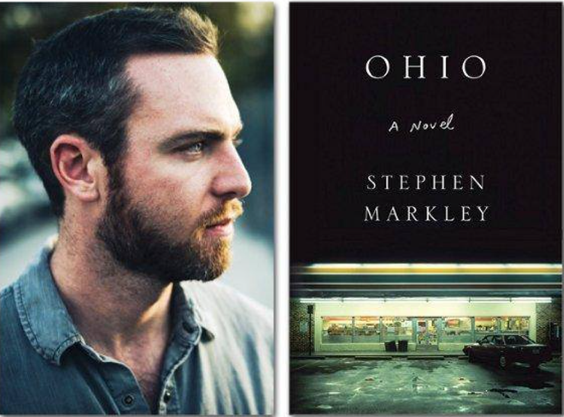 Stephen Markley and his debut novel, Ohio - COURTESY OF THE AUTHOR