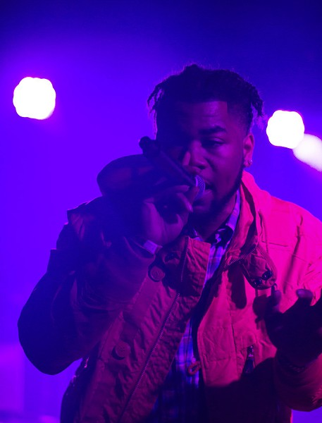 """John Walt performs as DinnerWith John during a Pivot Gang showcase at Lincoln Hall on January 6, 2017—about a month before he was killed. His mother says,""""That was one of the best days of his life."""" - COURTESY OF NACHELLE PUGH"""