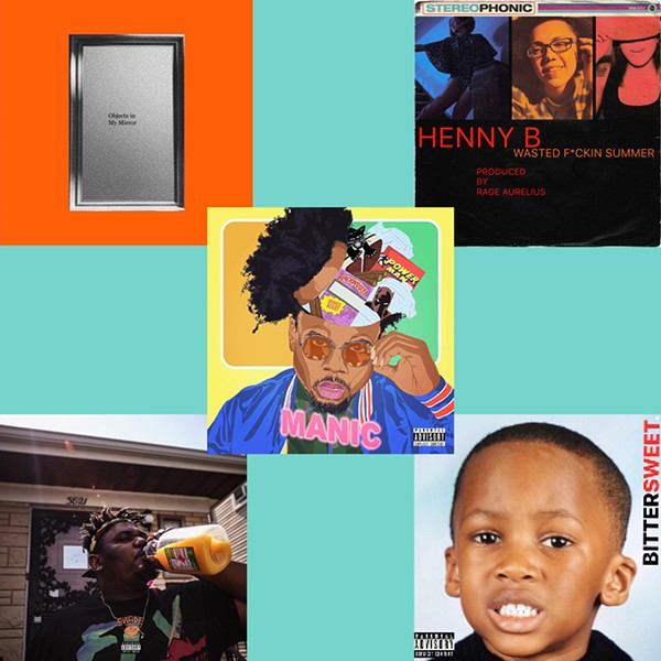 Cover art for Armanii Day and Henny B & Rage Aurelius (top row), Morocco Brown (middle), and Swade and WemmyMo (bottom row) - COLLAGE BY SUE KWONG