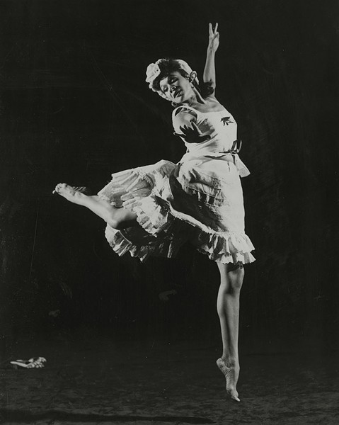 Katherine Dunham in L'Ag'Ya - COURTESY NEWBERRY LIBRARY