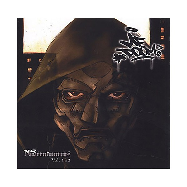The cover of the fan-made Nas/MF Doom mashup Nastradoomus