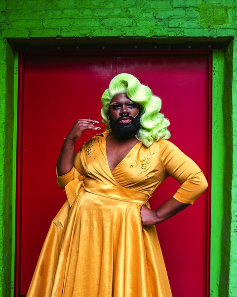 """""""That's been the dopest thing, to see that this entire drag community and some of the queer community has been changed by some of the stuff that I've done."""" - DARIUS GRIFFIN"""