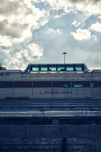 You can catch a glimpse of vintage coach cars in the Amtrak Car Yard along the route to China Town. - MAX THOMSEN