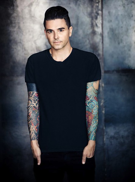 Chris Carrabba and his band Dashboard Confessional play the Riot Stage on Friday at 6:35 PM. - COURTESY OF THE ARTIST