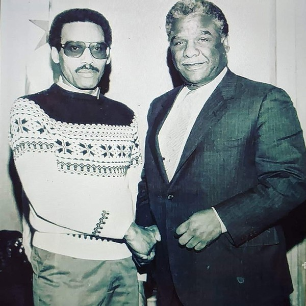 Richard Barnett helped Harold Washington get elected mayor in 1983. - COURTESY BARNETT FAMILY
