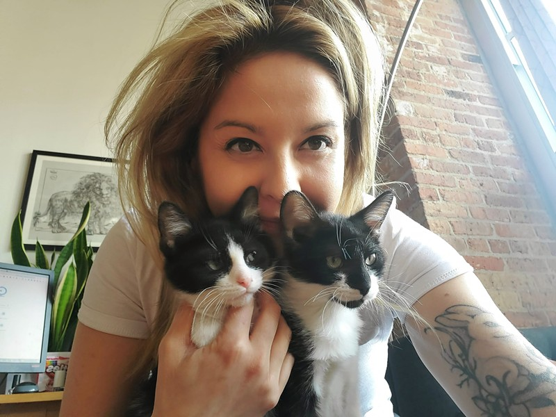 Kittens Chevy and Ford found a foster home with one of the Anti-Cruelty Society volunteers. - MARIA GOODYEAR