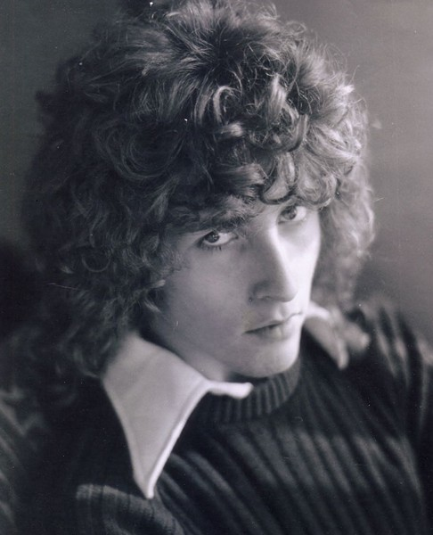 """Dave """"Medusa"""" Shelton with the famous perm that earned him his nickname in the 1970s - COURTESY MIGUEL ORTUNO"""
