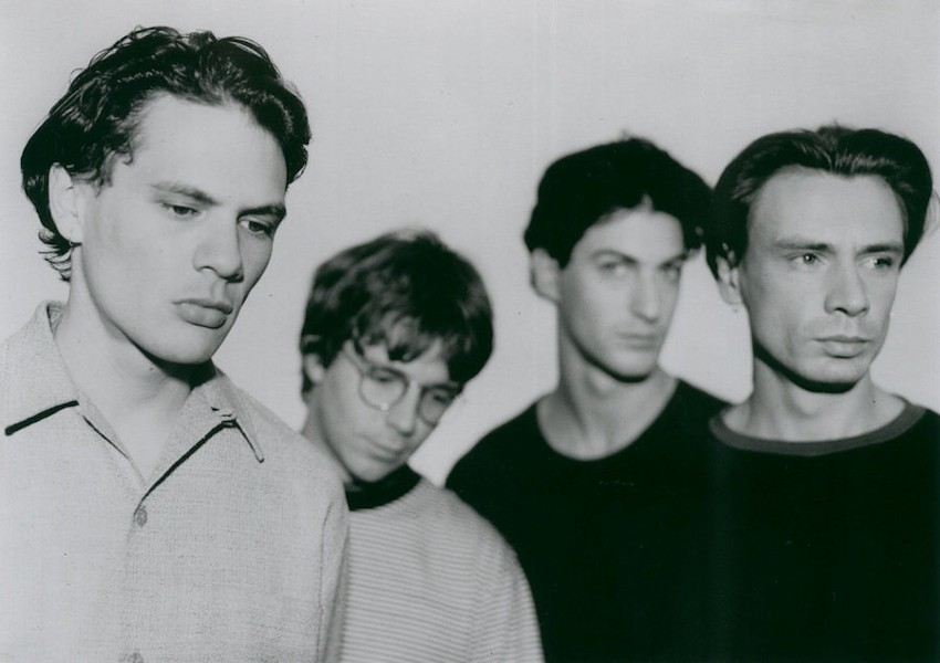 Straitjacket Fits: Shayne Carter, Andrew Brough, John Collie, and David Wood - COURTESY FLYING NUN RECORDS