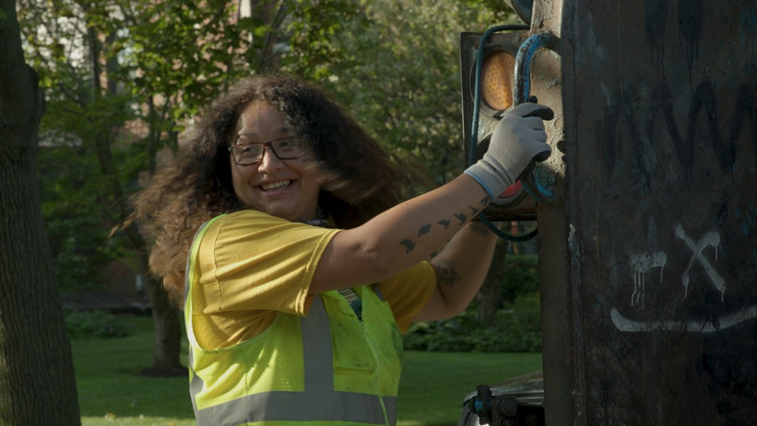 Chicago DSS: Division 7, Division 4, Division 2, Division 6 by Mierle Laderman Ukeles and Julian Flavin with the Chicago Department of Streets and Sanitation, 2019