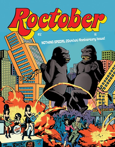 Issue 52 of Roctober publishes as a free PDF on Halloween. - COURTESY JAKE AUSTEN