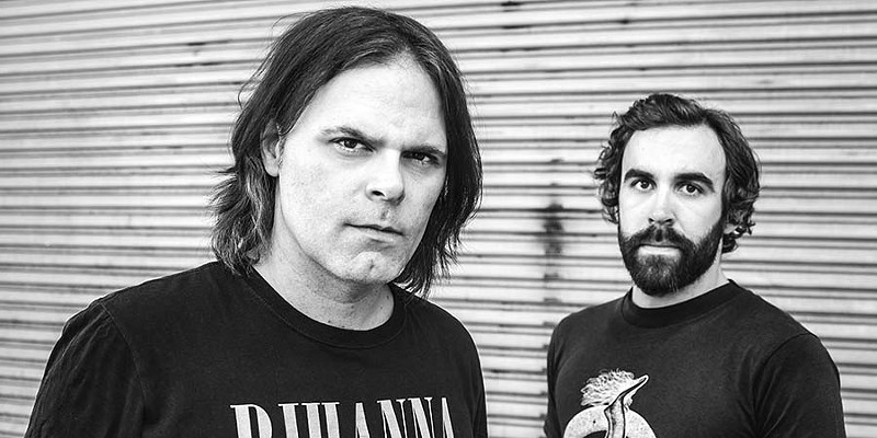 Scott Lucas (left) and Ryan Harding (right) of Local H.