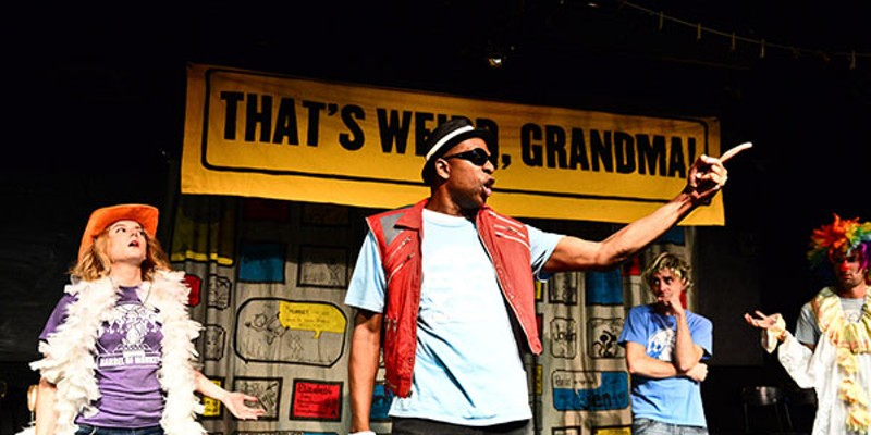 The variety show That's Weird, Grandma has three slots at Fringe Festival.
