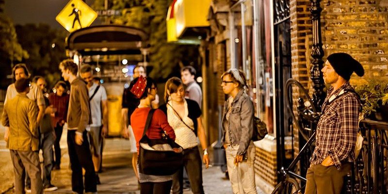 Best neighborhood for nightlife