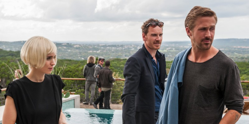 Mara, Michael Fassbender, and Gosling in Song to Song