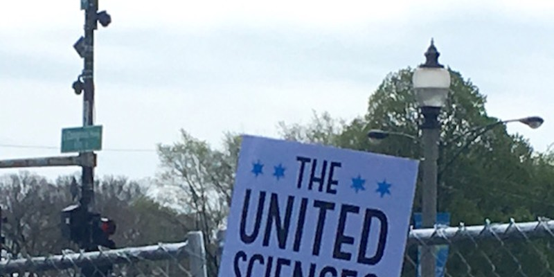 Scenes from Saturday's March for Science