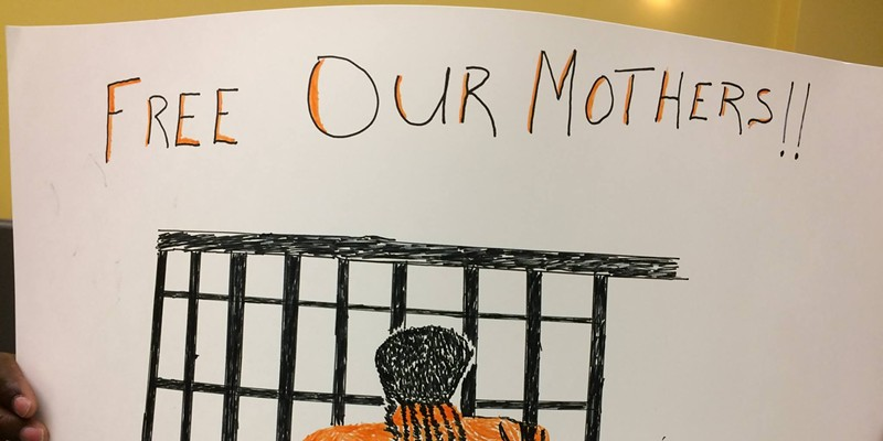 This Mother's Day, groups rally to support incarcerated moms