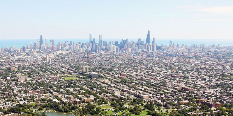 Chicago's famous flatness is important (and not always true)