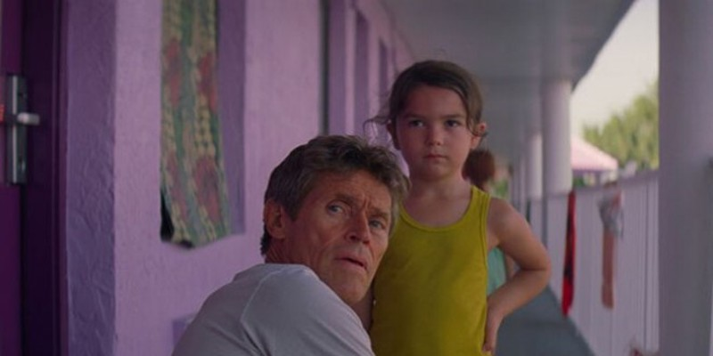Willem Dafoe in The Florida Project