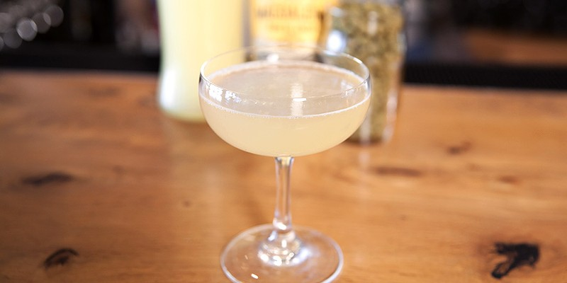 A DryHop bartender takes the bitterness out of a hop-infused cocktail