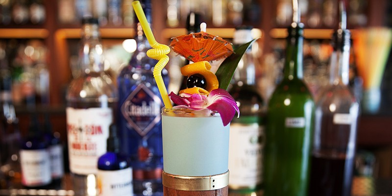 A cocktail with hoisin sauce? Watch a Lost Lake bartender mix one up with a tiki spin