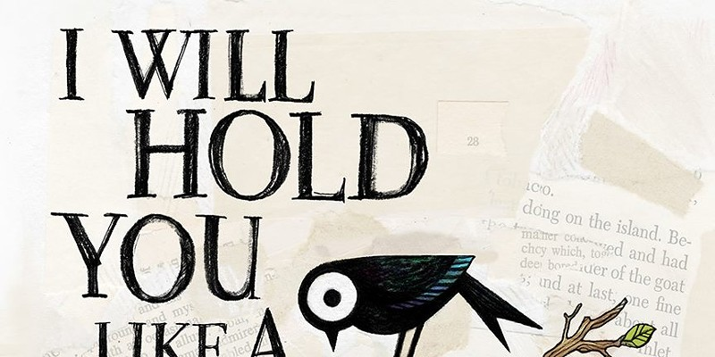 The cover art of I Will Hold You Like a Bible