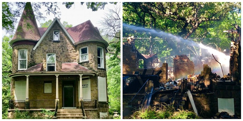 Historic home destroyed in fire; ex-owner furious at county for failing to secure it