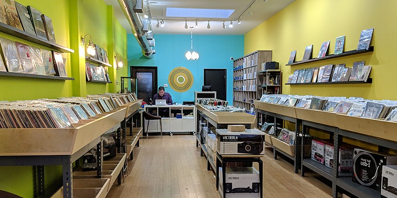 Today Andersonville has a record store again