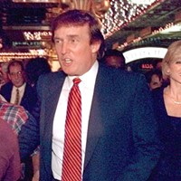 Donald Trump's connection to Gary Donald and Marla Trump tour the new Trump Casino in Buffington Harbor in July 1996. Sun-Times